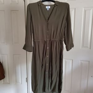 Old Navy Button Up Dress